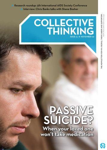 PASSIVE SUICIDE? - New Zealand Aids Foundation