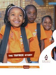 THE TBFREE STORY - Aventis Foundation