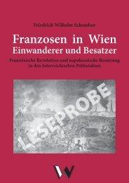 Schembor, Franzosen in Wien/Leseprobe - Verlag Dr. Dieter Winkler
