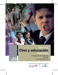 Cartel del ciclo de cine - Caja España-Duero