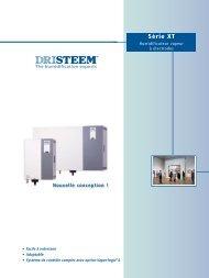Série XT - DRI-STEEM