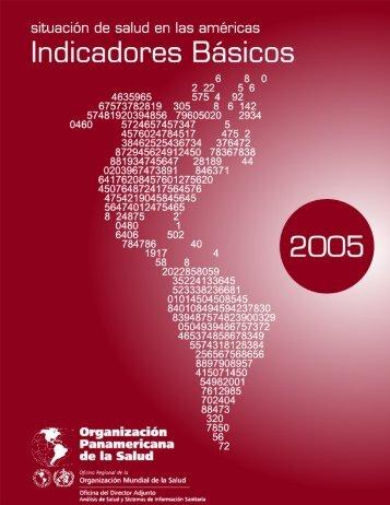 Situación de Salud en las Américas: Indicadores ... - PAHO/WHO