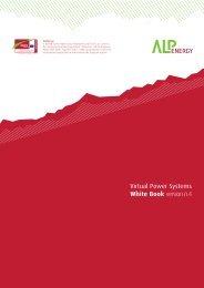Virtual Power Systems - White Book - Alpine Space Programme