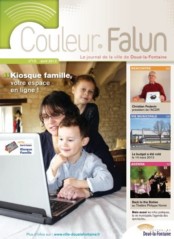 Couleur Falun 13 - Avril 2012 [pdf - 4Mo] - Doué-la-Fontaine