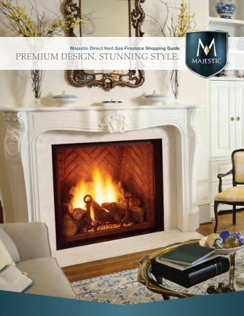 Brochure - Unvented Gas Log Heater or Vented Decorative Appliance