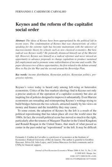 01 carvalho.indd - Instituto de Economia da UFRJ