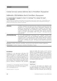 Central nervous system infection due to Penicillium ... - CBS