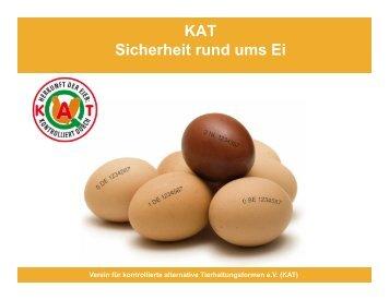 KAT Sicherheit rund ums Ei - Was steht auf dem Ei?