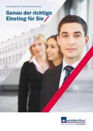 Graduates Broschüre - Staufenbiel.ch