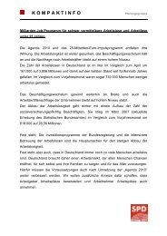 Milliarden-Job-Programm für schwer vermittelbare ... - Rainer Arnold