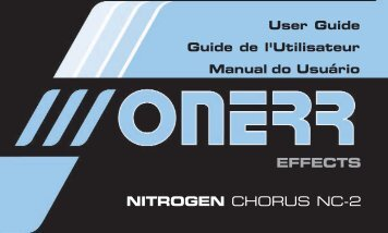 EFFECTS NITROGEN CHORUS NC-2 - onerr