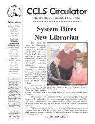 February - Chautauqua-Cattaraugus Library System