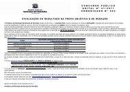 resultados provas objetiva e redação ordem ... - Instituto Mais