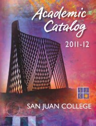 Full Catalog - San Juan College
