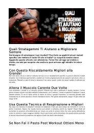 Allena il Muscolo Carente Due Vo - Ultimate Italia