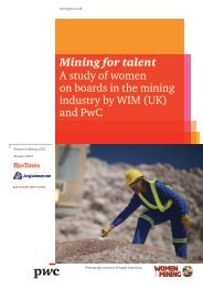 Mining for talent - The Workplace Gender Equality Agency