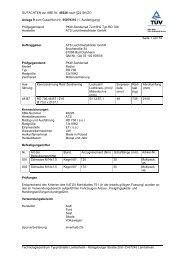 GUTACHTEN zur ABE Nr. 48226 nach §22 StVZO Anlage 9 zum ...