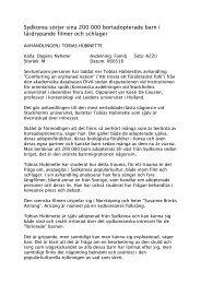 Intervju 2 - Tobias Hübinette