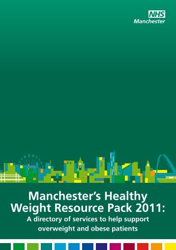 Manchester's Healthy Weight Resource Pack 2011:
