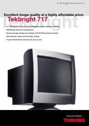 Tekbright 717 - Toshiba