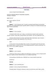 Biyolojik Etkenlere Maruziyet Risklerinin Önlenmesi Hakkında ...