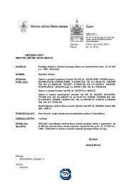12.3 Predlog sklepa o ukinitvi statusa javnega dobra na ...