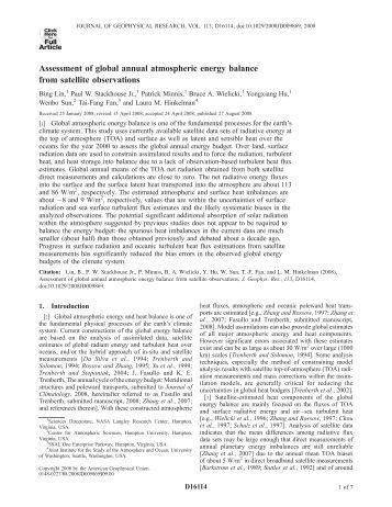 Atmospheric Circulation & Models