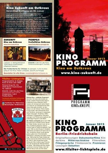 Januar 2012 - Kino Zukunft