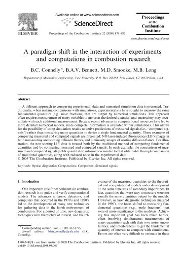 A paradigm shift in the interaction of experiments ... - Yale University