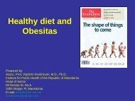Healthy diet and Obesitas - Focus-Balkans