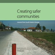 Creating safer communities - Lessons from South ... - Saferworld
