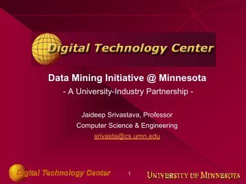Download presentation - DTC - University of Minnesota