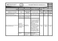 Informe licitaciones diciembre 2009 - Transparencia Municipal ...
