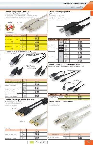 Cordons USB & Firewire - Gelcom