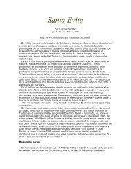 Santa Evita - Alianza Bolivariana para los Pueblos de Nuestra ...