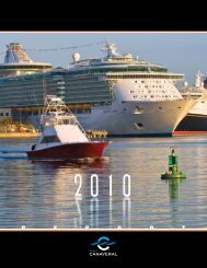 2010 Annual Report/Directory pdf - Port Canaveral