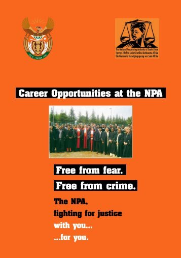 Untitled - National Prosecuting Authority