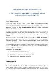 Projekt PF09 - IPMA