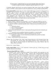 Výroční zpráva z jednání Komise pro prevenci kriminality ... - Svitavy