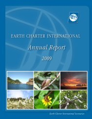 Annual report B OK.pdf - Earth Charter Initiative
