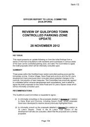 guildford town centre controlled parking zone review update pdf 47 kb