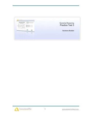 numerical reasoning aptitude test with answers pdf