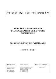 CCTP - Coupvray