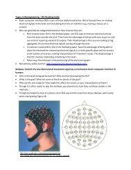Topics in Bioengineering – BCI Reading Guide for 9/10/12 • Brain ...