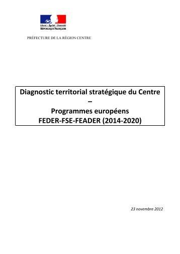 Diagnostic Territorial Stratégique 23/11/2013 - L'Europe s'engage ...