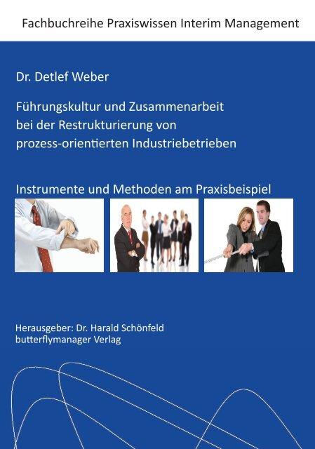 Fachbuch Dr. Detlef Weber - butterflymanager