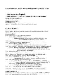 Konference Prix Irene 2012 - 30.listopadu-2.prosince Praha ...