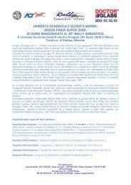 Final report - ACI Sport Italia