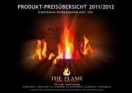 PRODUKT-PREISÜBERSICHT 2011/2012 - The Flame