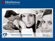 ElitePartner-Frauenkompass © März 2011 - ElitePartner-Akademie
